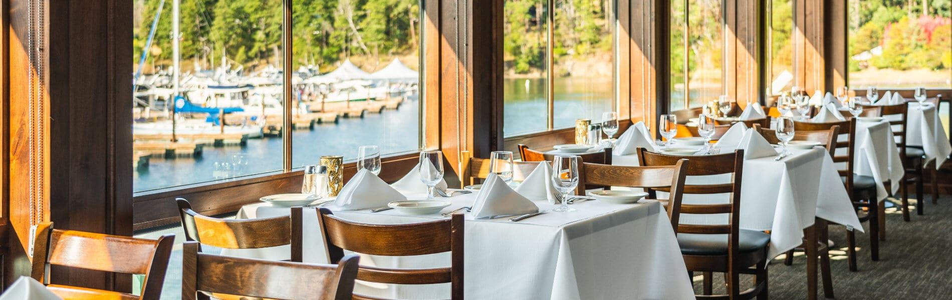 Dining Roche Harbor Resort