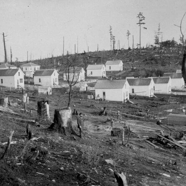 Original Roche Harbor Cabins