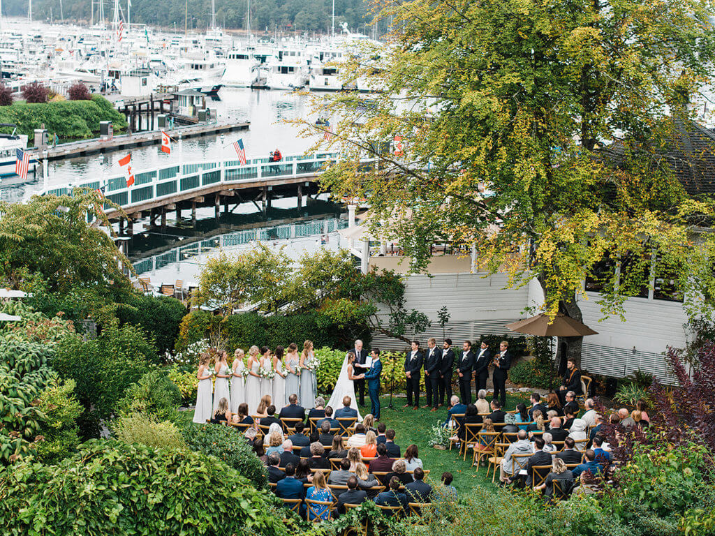 Garden Wedding at Roche Harbor
